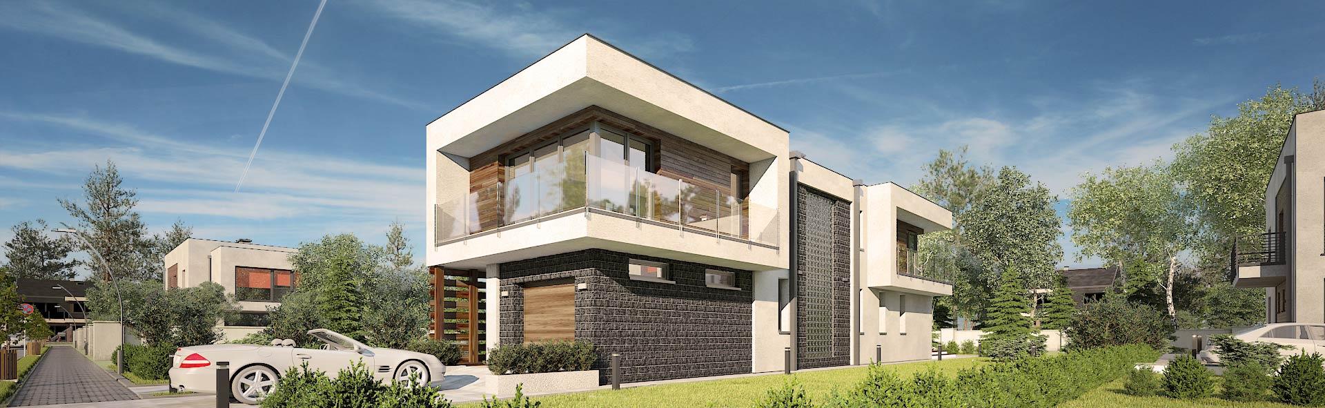 S-GL-1104-Modern-House - dzień