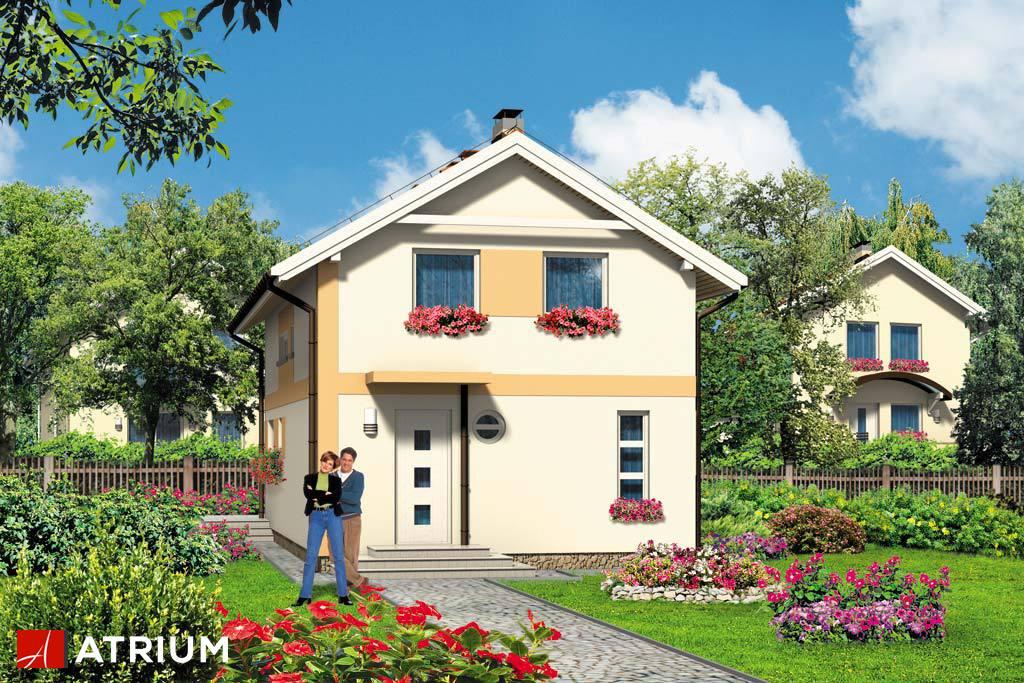 Projekt Barnaba - elewacja domu