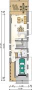 Rzut parteru - S-GL 1104 Modern House