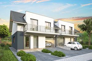 S-GL 1185 Double House