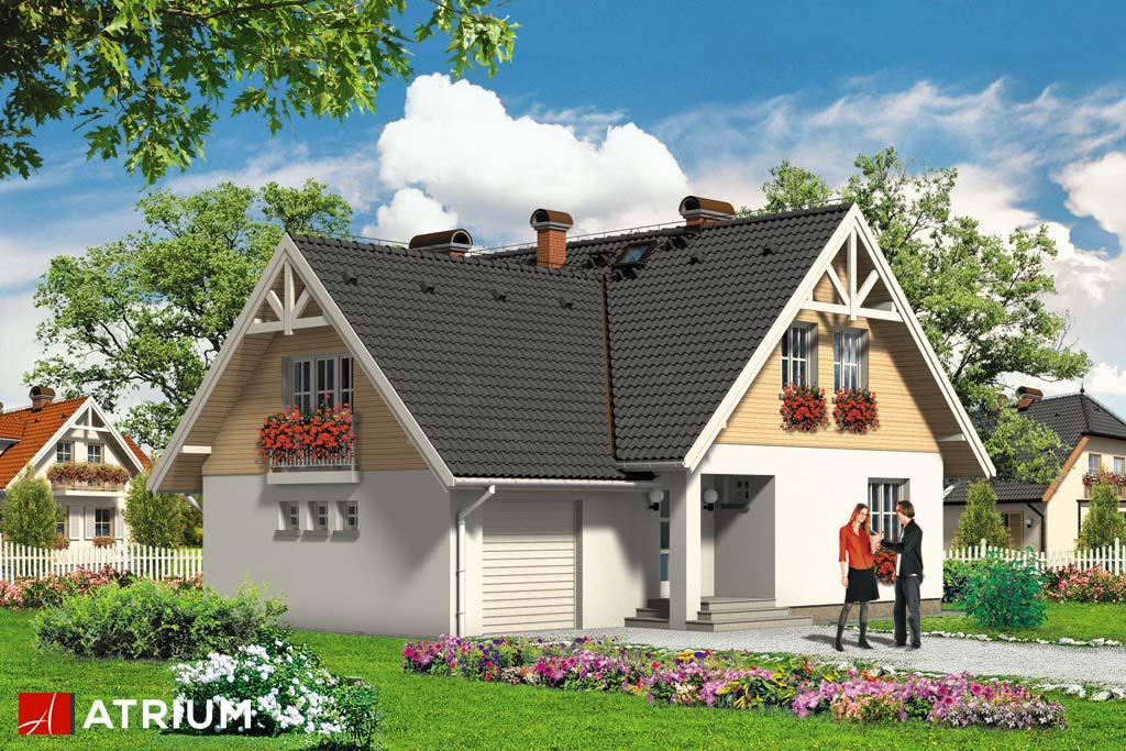 Projekt Bratek - elewacja domu