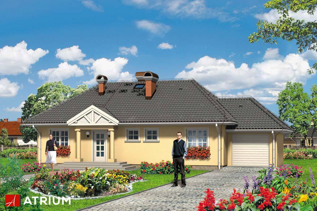 Projekt Arka Plus - elewacja domu
