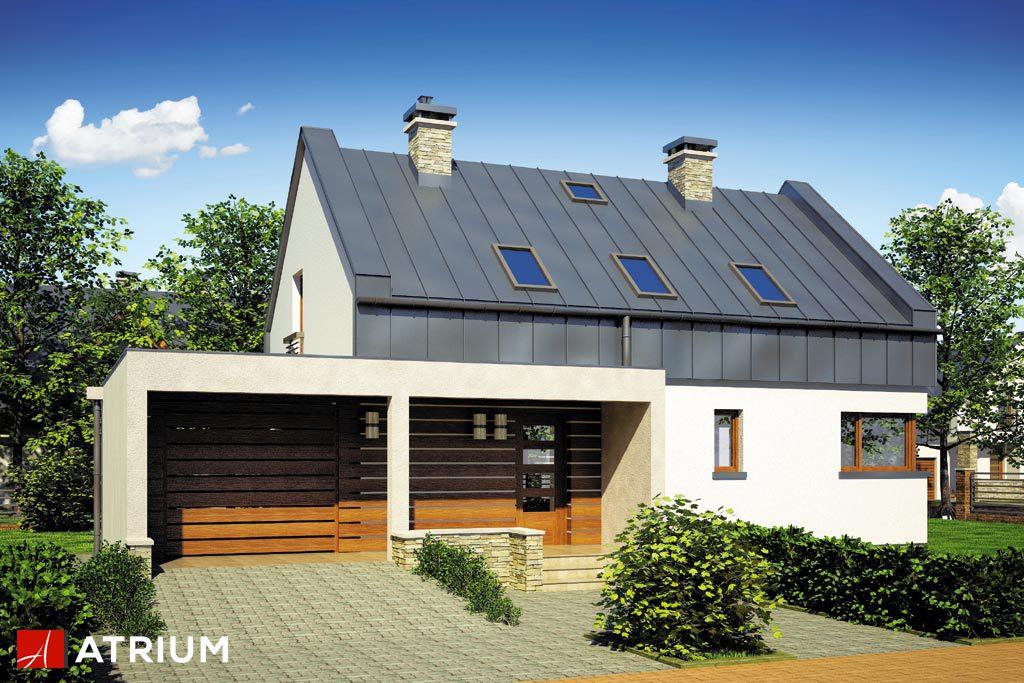 Projekt Rumba - elewacja domu