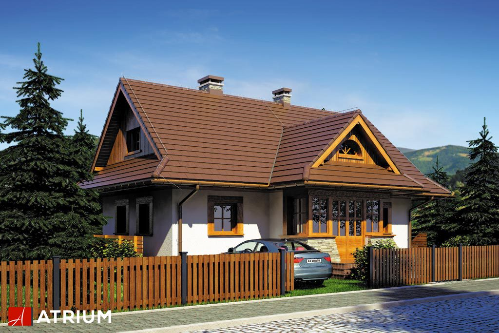 Projekt Kaskada - elewacja domu