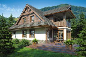 Projekty domów regionalnych